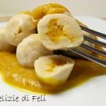 Gnocchi di tofu ripieni di zucca