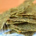 Raw-crackers di broccoli