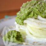 Spaghetti di cavolo rapa con pesto di broccoli
