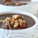 Budino al cioccolato e cupuaçu