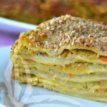 Lasagne alle doppie lenticchie